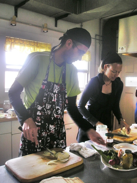 Clase cocina macrobiótica
