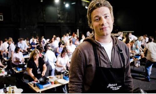 Jamie Oliver para la macrobiotica